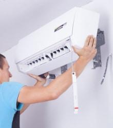 Installatie airco