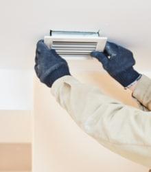 Installatie ventilatiesysteem